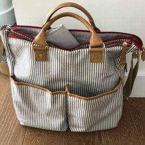 Skip Hop French Stripe Diaper Baby Bag